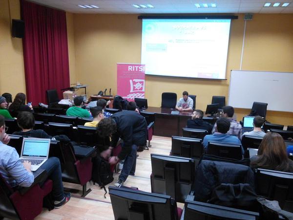 IV Jornadas de Formación RITSI para representantes de estudiantes