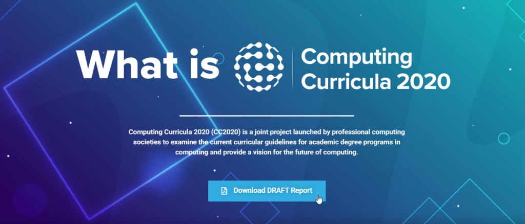 Borrador Computing Curricula 2020
