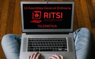 LII Asamblea General Ordinaria RITSI – Telemática