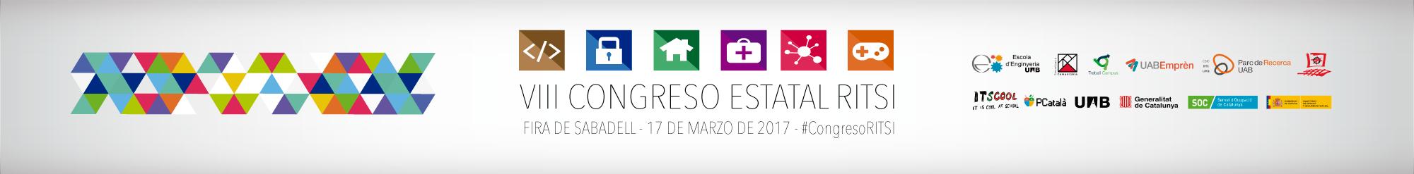 VIII Congreso RITSI | Banner